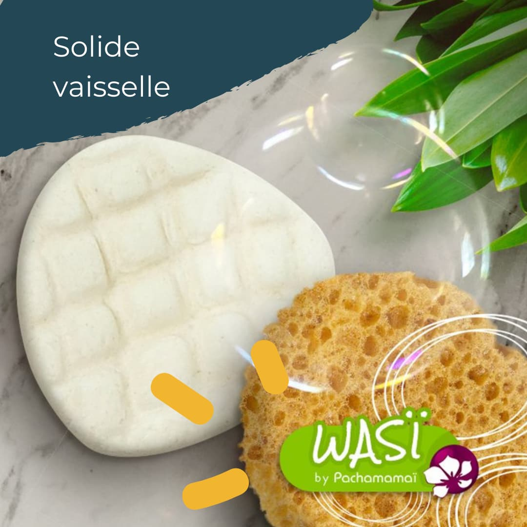 Solide vaisselle Wasi by Pachamamaï